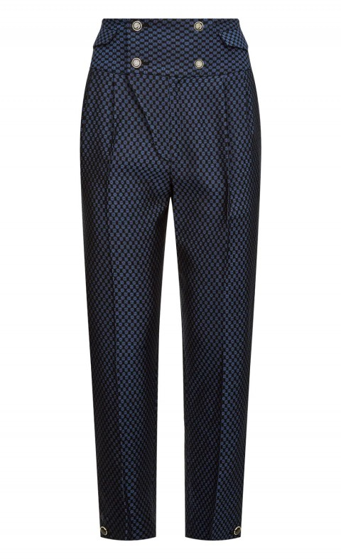 Element Waisted Trousers French Blue