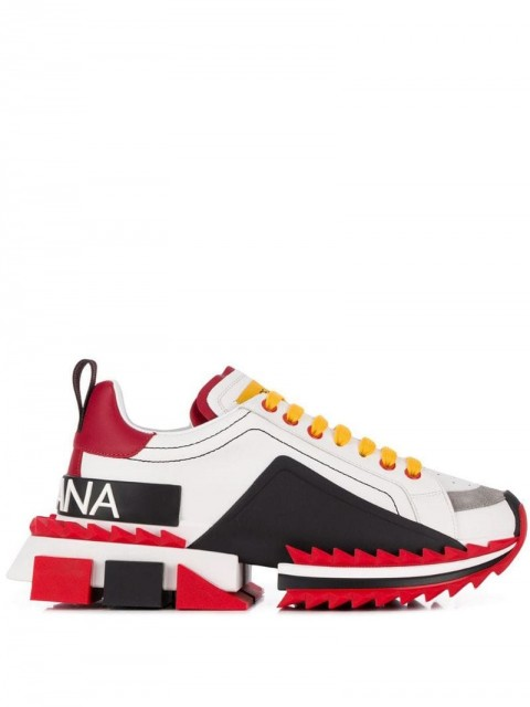 Dolce & Gabbana - Super Queen sneakers - women - Rubber/Leather - 34, 35, 36, 36,5, 37, 37,5, 38, 38,5, 39, 40, 41 - White