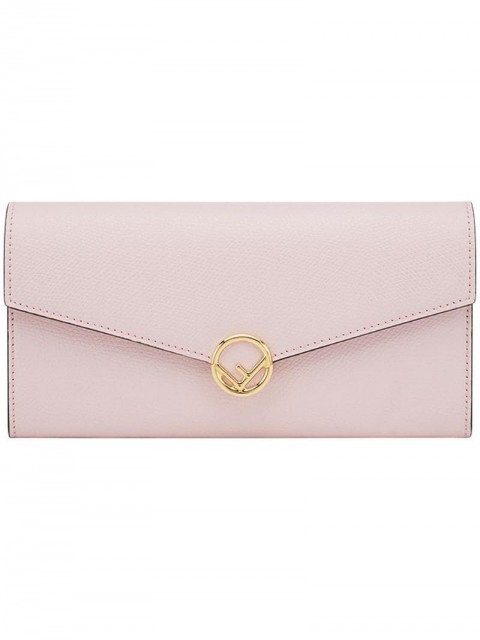 Fendi - envelope mini bag - women - Calf Leather - One Size - PINK