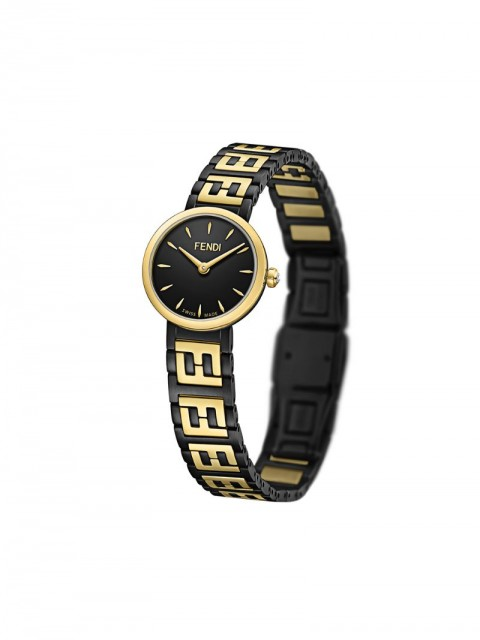 Fendi - Forever Fendi watch - women - stainless steel/Mother of Pearl - One Size - Black