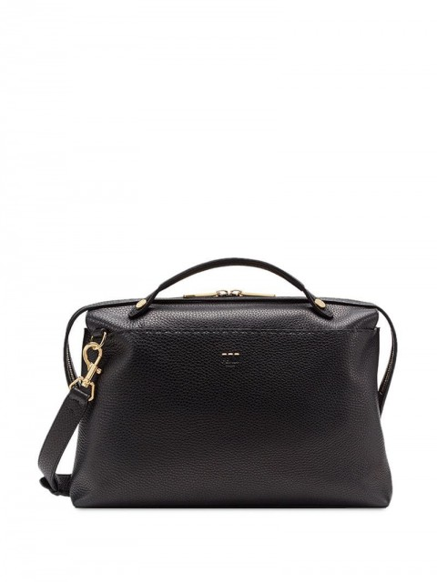 Fendi - By The Way briefcase - men - Cotton/Polyurethane/Calf Leather/Polyester - One Size - Black