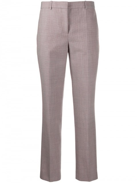 Givenchy - tailored trousers - women - Cotton/Wool - 38, 40, 42 - White