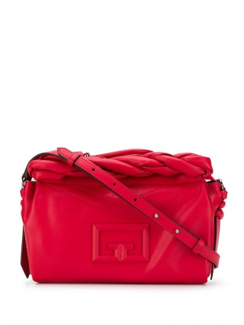Givenchy - Medium ID93 shoulder bag - women - Calf Leather - One Size - Red