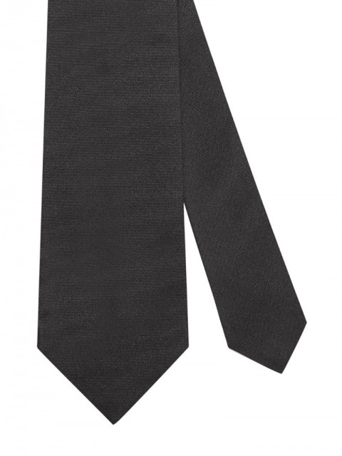Gucci - Bee embroidered tie - men - Silk - One Size - Black