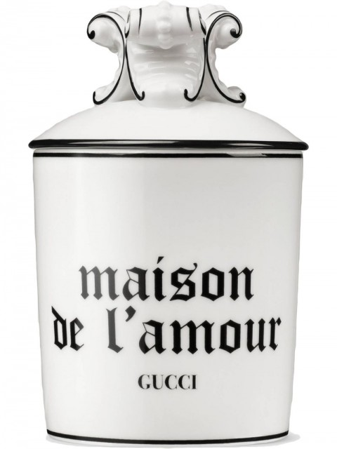 "Gucci - Freesia XL ""Maison De L'Amour"" candle - unisex - Porcelain/Wax - One Size - White"
