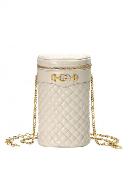 Gucci - Zumi quilted belt bag - women - Leather - M, L, S - White