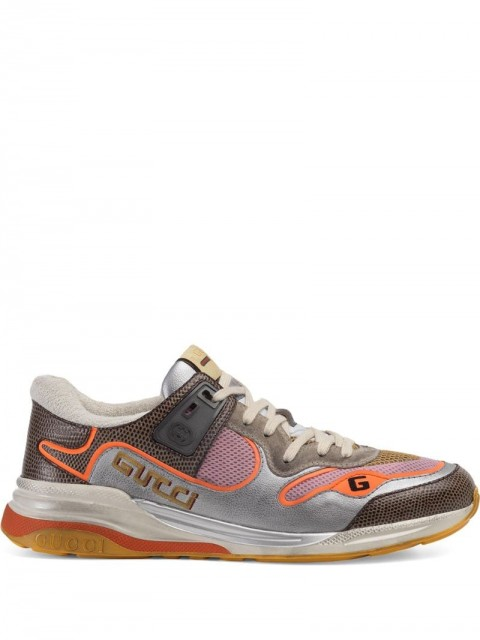 Gucci - Ultrapace sneakers - men - Leather/Suede/Polyester/Rubber - 9,5 - Grey