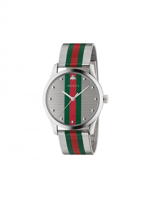 Gucci - G-Timeless 42mm - men - Steel - One Size - SILVER
