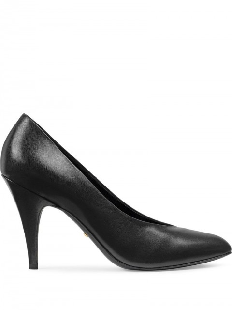 Gucci - high heeled pumps - women - Leather - 36, 36.5, 40, 35, 37, 38, 39 - Black