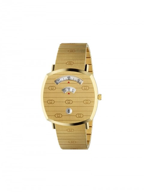 Gucci - Grip 38mm watch - unisex - stainless steel - One Size - GOLD