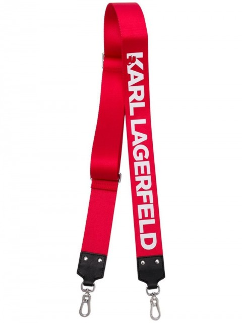 Karl Lagerfeld - K/Straps wide bag strap - women - Polyamide - One Size - Red