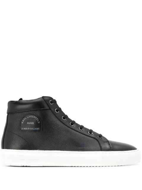 Karl Lagerfeld - Kupsole Maison Karl sneakers - men - Leather/Rubber - 43, 46, 42, 45 - Black