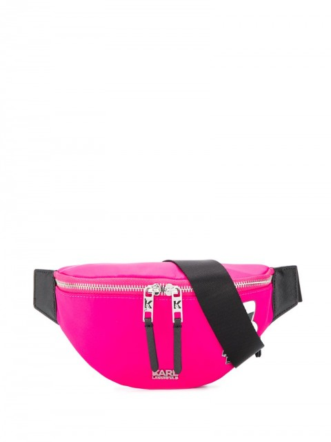 Karl Lagerfeld - K/Ikonik belt bag - women - Polyamide - One Size - PINK