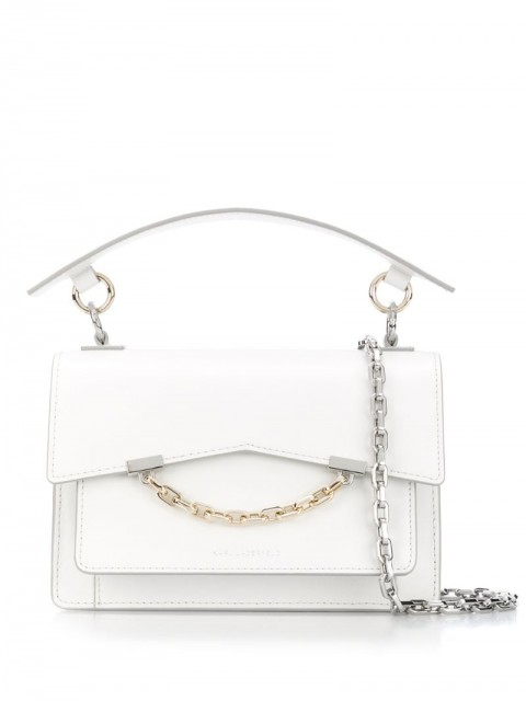 Karl Lagerfeld - Seven tote bag - women - Leather - One Size - White