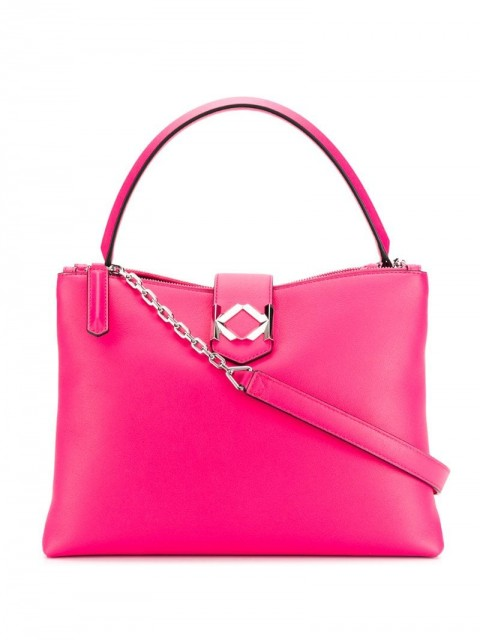 Karl Lagerfeld - Miss K tote bag - women - Calf Leather - One Size - PINK