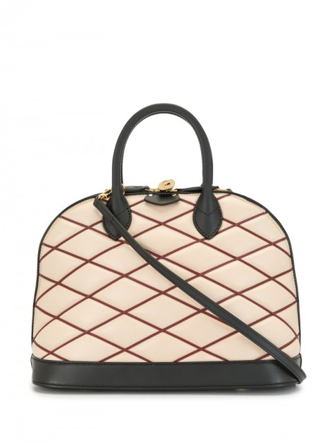 Louis Vuitton - 2014 pre-owned Alma Martage two-way bag - women - Leather - One Size - Neutrals