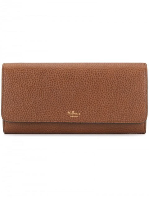 Mulberry - Continental Wallet - women - Leather - One Size - Brown
