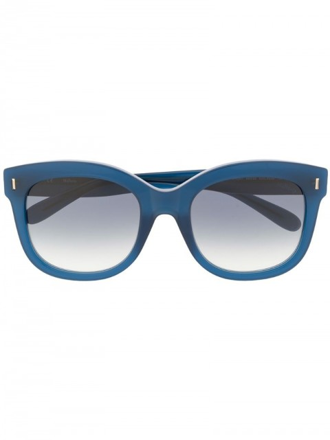 Mulberry - Charlotte square sunglasses - women - Acetate/WAX - One Size - Blue
