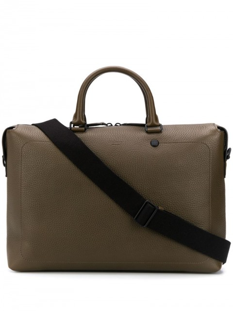 Mulberry - City briefcase - men - Leather - One Size - Green
