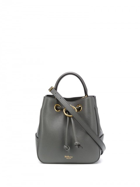 Mulberry - small Hampstead bucket bag - women - Leather - One Size - Grey