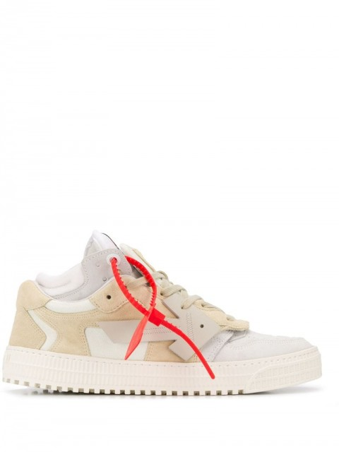 Off-White - Off Court Low sneakers - men - Cotton/Rubber/Suede - 43 - White