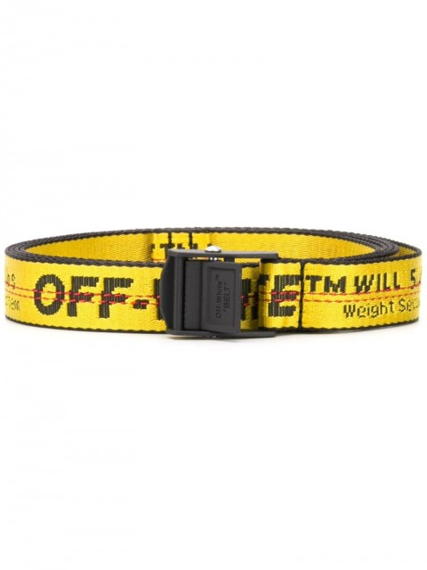 Off-White - mini industrial belt - men - Polyamide/Polyester - One Size - yellow