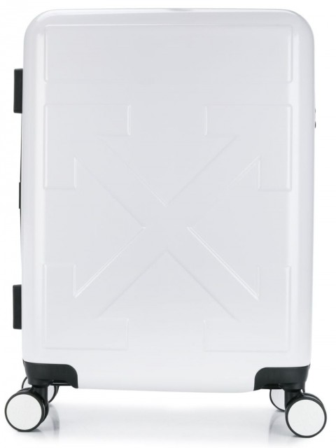 Off-White - Quote carry-on trolley - men - Polycarbonite - One Size - White