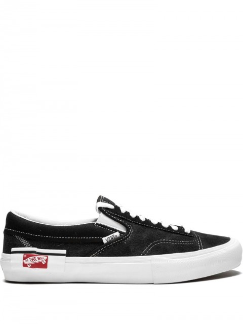Vans - Slip-On Cap LX sneakers - men - Rubber/Canvas/Suede - 11, 13, 9.5, 6.5 - Black