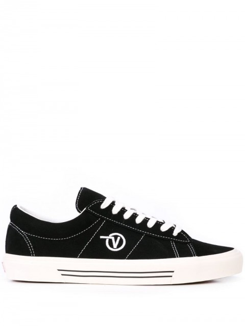 Vans - SID DX sneakers - men - Canvas/Leather/Rubber - 4.5, 5.5 - Black
