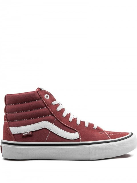 Vans - SK8 Hi Pro sneakers - men - Rubber/Leather/Canvas - 4, 4.5, 5.5, 7, 10.5, 11.5 - Red