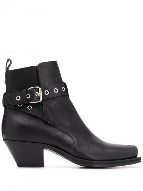 Versace - wrap-around strap ankle boots - men - Leather - 42, 43, 45, 40, 40.5, 41, 41.5, 42.5, 45.5 - Black
