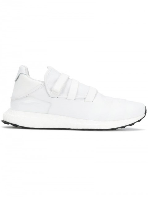 Y-3 - Zazu sneakers - women - Polyester/Rubber/Calf Leather - 5, 5,5, 6,5, 7, 6 - White