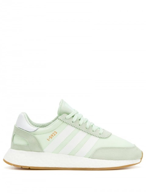 adidas - Iniki sneakers - women - Polyester/Cotton/Leather/Rubber - 6.5 - Green