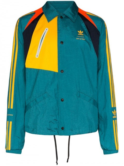 adidas - x Bed J.W. Ford shell jacket - men - Polyester - XS, XL - Blue