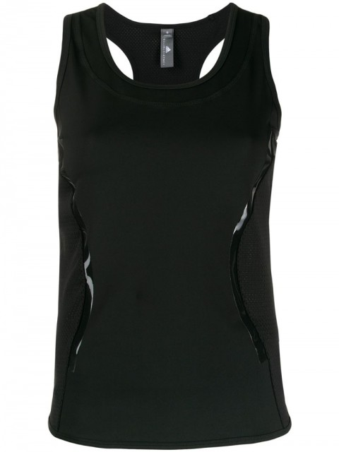 adidas by Stella McCartney - Essentials tank top - women - Spandex/Elastane/Recycled Polyester - XXS, XS, S, M, L - Black