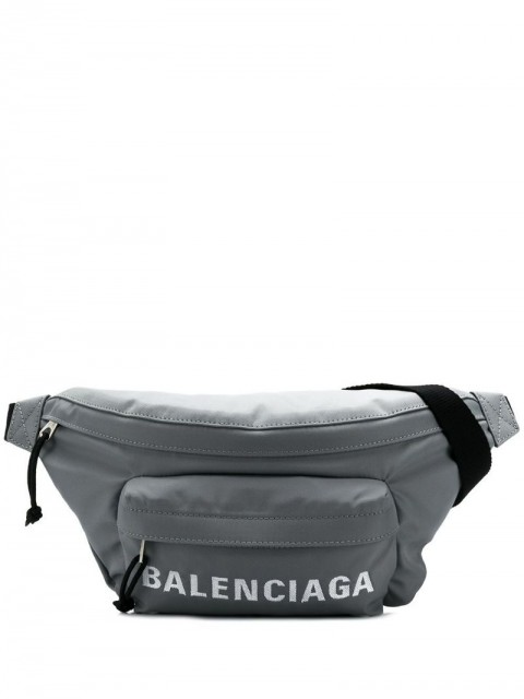 Balenciaga - Wheel belt bag - men - Nylon - One Size - Grey