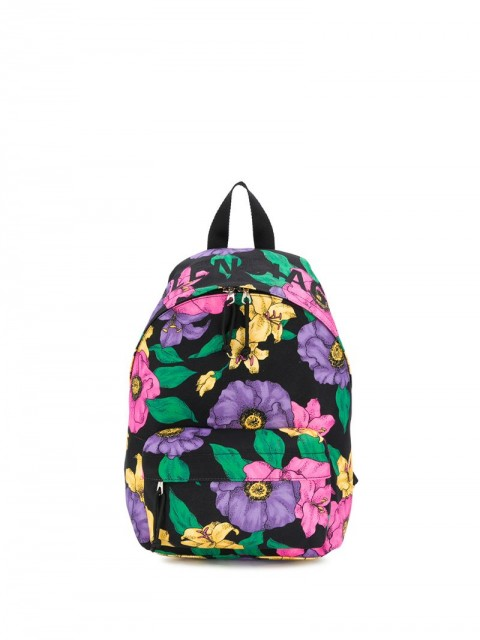 Balenciaga - small Wheel Lush Floral backpack - women - Polyester - One Size - Black