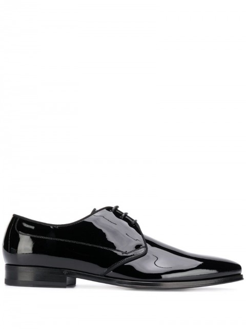 Dolce & Gabbana - Derby shoes - men - Leather/Patent Leather - 41, 45, 39, 40, 43, 44, 46, 40,5, 38,5, 39,5, 41,5, 42, 42,5, 43,5, 44,5 - Black