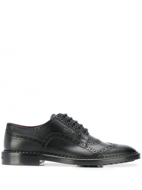 Dolce & Gabbana - formal leather brogues - men - Leather - 40, 41, 41,5, 44, 42, 43, 45, 39, 42,5, 40,5 - Black