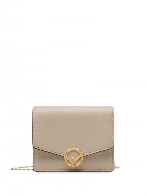 Fendi - F Is Fendi mini bag - women - Calf Leather - One Size - Neutrals