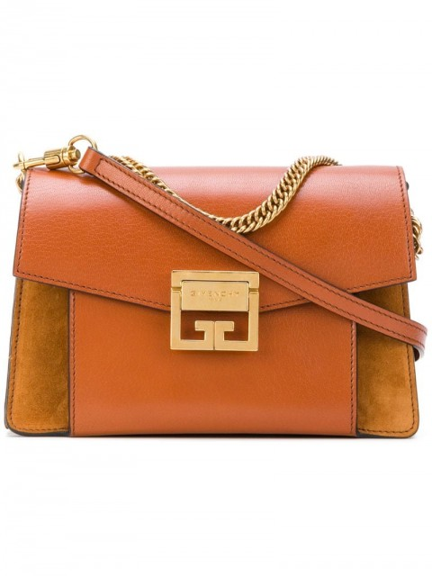 Givenchy - small GV3 shoulder bag - women - Goat Skin/Leather - One Size - Brown