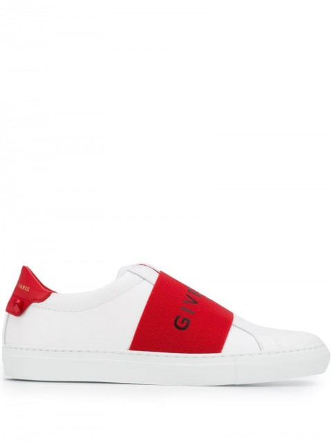 Givenchy - elastic skate sneakers - women - Rubber/Leather/Polyurethane/Calf Leather - 41, 38 - White