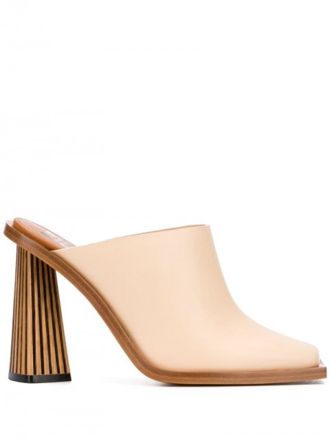 Givenchy - Diamond mules - women - Calf Leather/Leather - 37, 39 - Neutrals