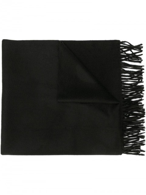 Givenchy - classic knitted scarf - men - Cashmere/Wool - One Size - Black