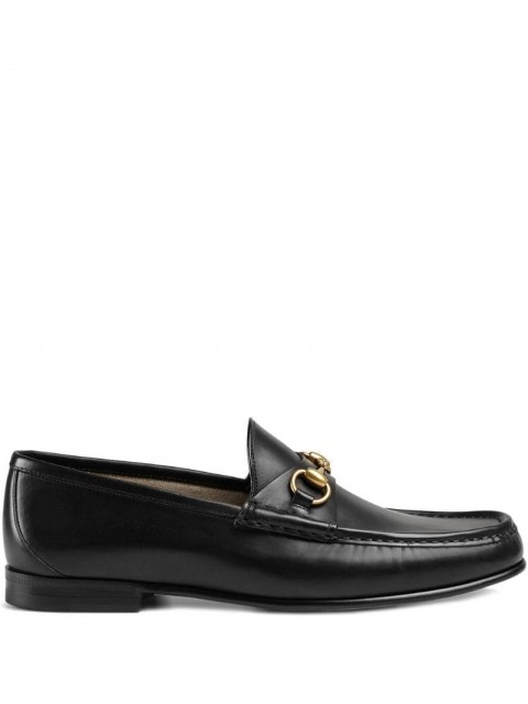 Gucci - 1953 Horsebit leather loafers - men - Calf Leather/Leather - 6, 7, 8, 9, 9,5, 10, 10,5, 11, 12, 4,5, 5, 8,5 - Black