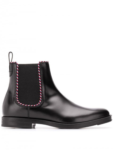 Gucci - Beyond chelsea boots - men - Calf Leather/Leather/Rubber - 5,5, 6, 6,5, 8, 10,5 - Black