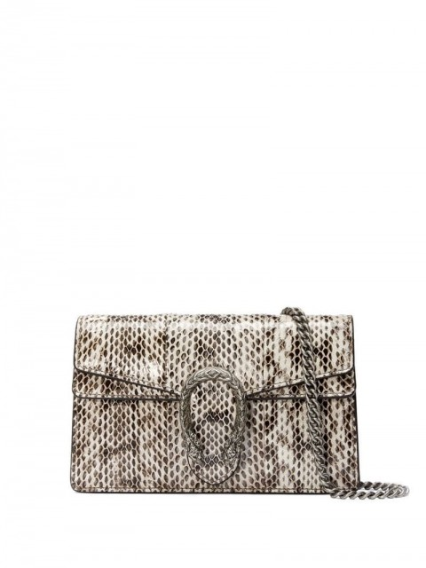 Gucci - Dionysus super mini snakeskin bag - women - Leather/Snake Skin - One Size - White