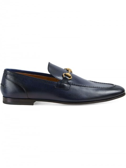 Gucci - Gucci Jordaan leather loafer - men - Leather/Calf Leather - 6, 6,5, 8, 9, 10, 11,5, 5, 5,5, 13 - Black