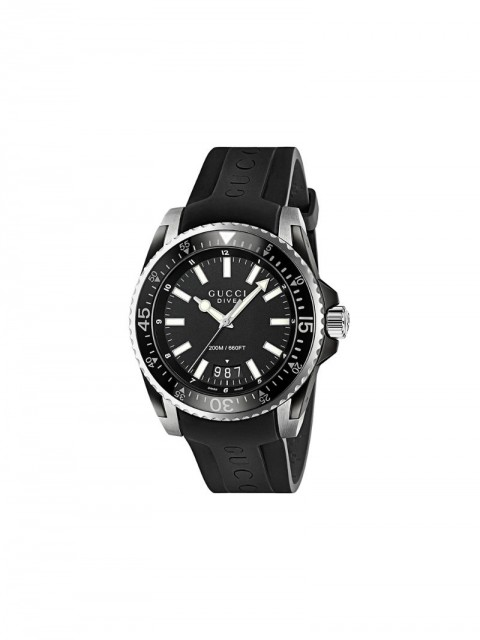 Gucci - Gucci Dive watch - men - Rubber/stainless steel - One Size - Black