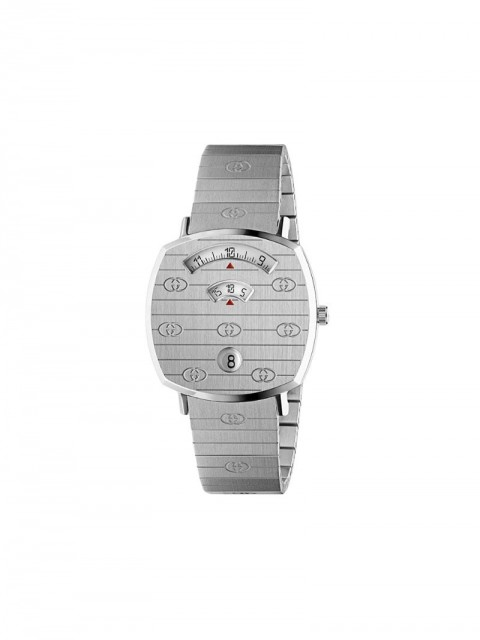 Gucci - Grip 35mm watch - unisex - stainless steel - One Size - SILVER